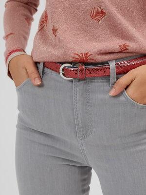ceinture écailles rouge icode