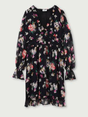 Robe fleurie WF0461 5