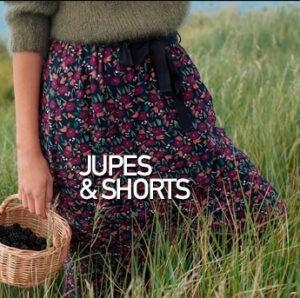 jupes et shorts mode femme prêt à porter