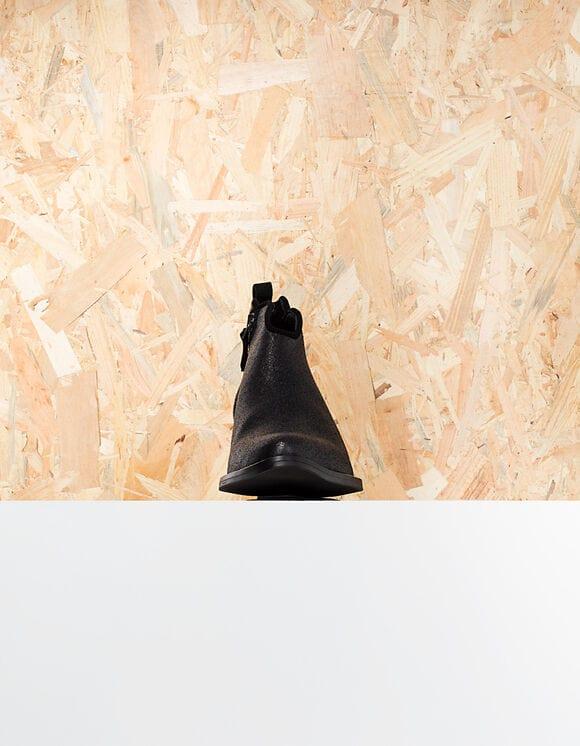 IKKS-BOOTS NOIRS EN CUIR VELOURS IRISE I_CODE-QR80014-02_4