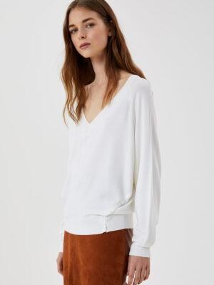 Pull blanc