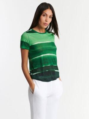 T-shirt vert émeraude