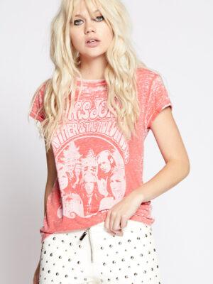 t-shirt janis joplin recycled karma